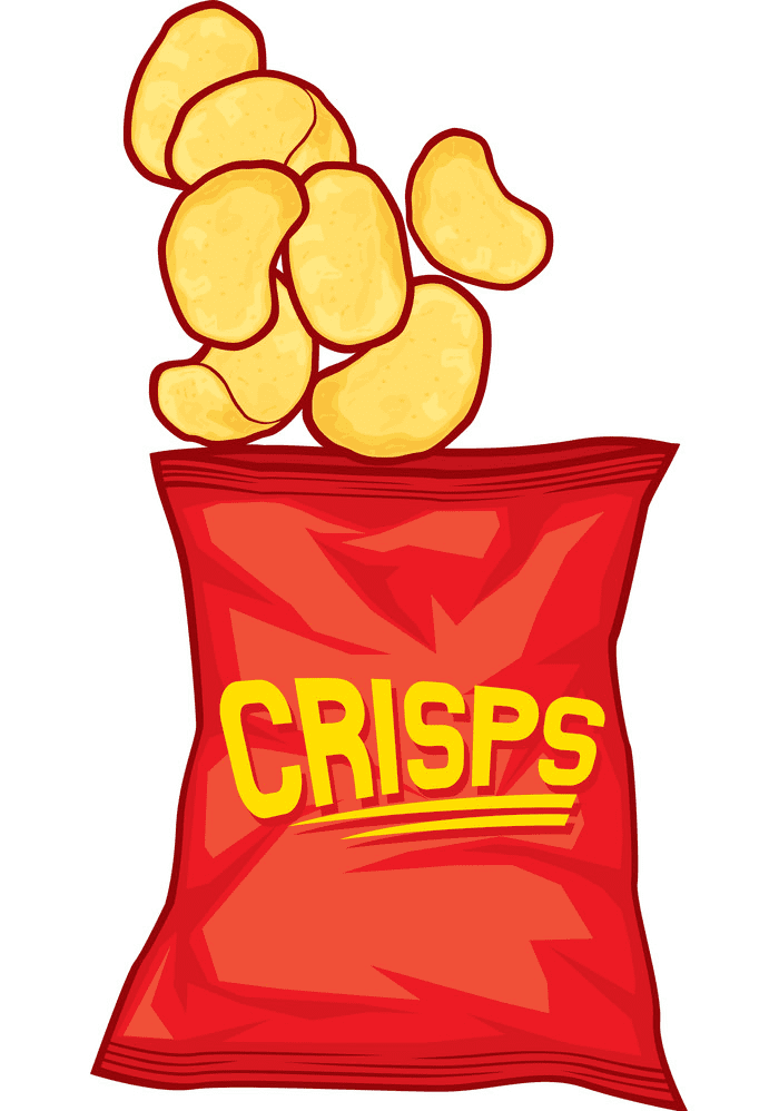 Potato Chips clipart free