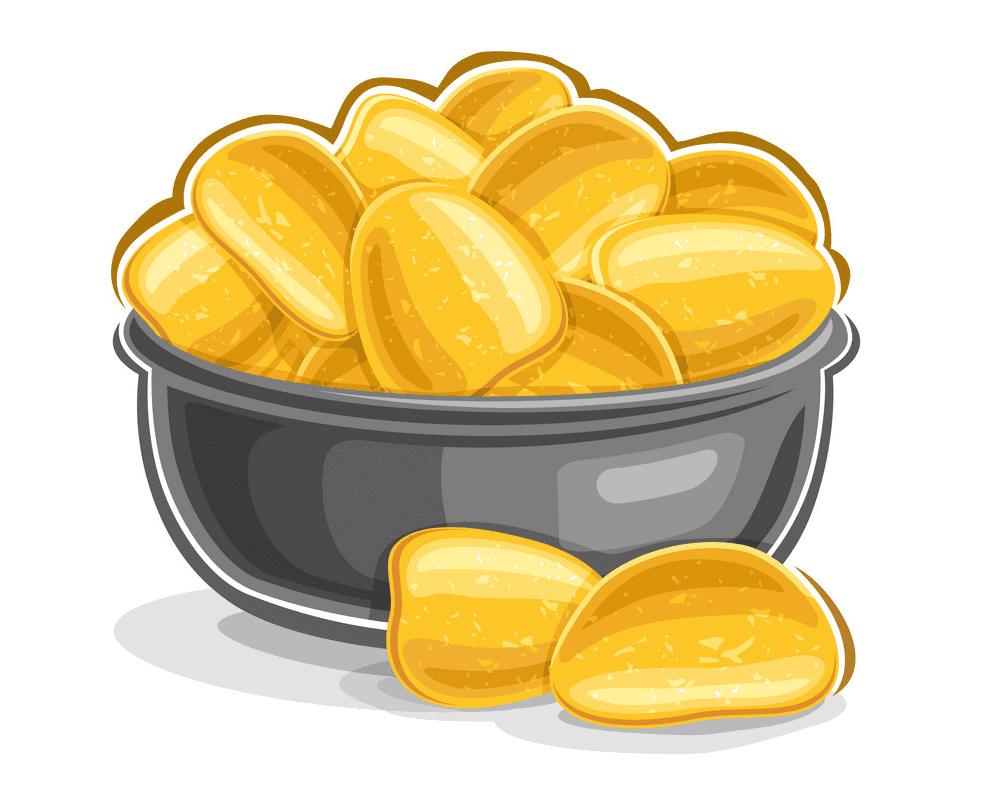 Potato Chips clipart