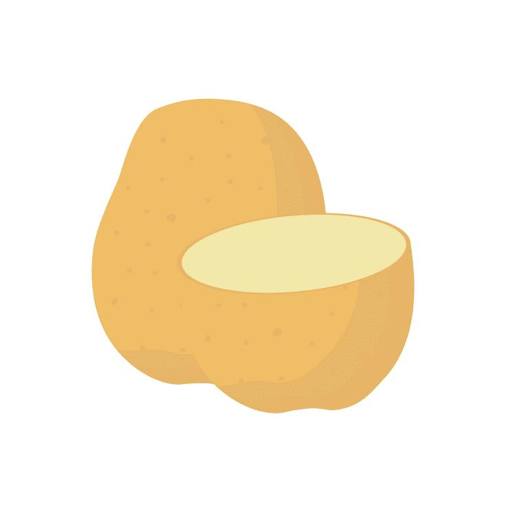 Potato clipart for kid
