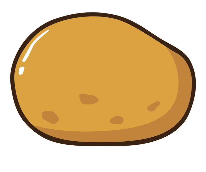 Potato clipart free