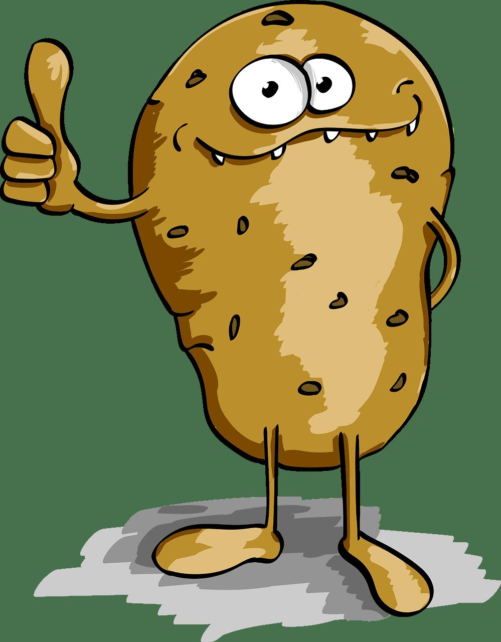 Potato clipart transparent 5