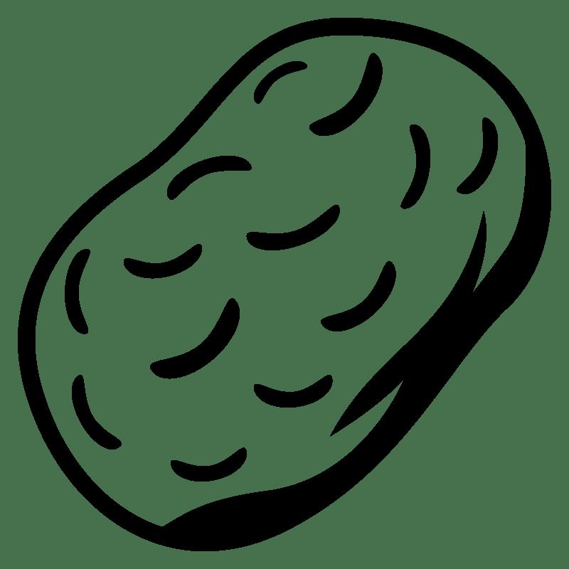 Potato clipart transparent 6