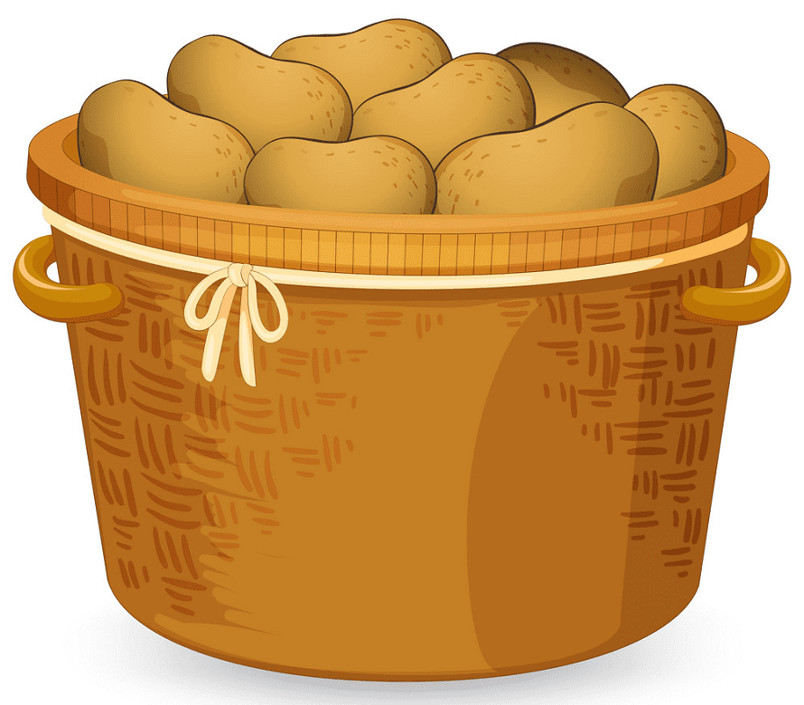 Potatoes clipart for kids