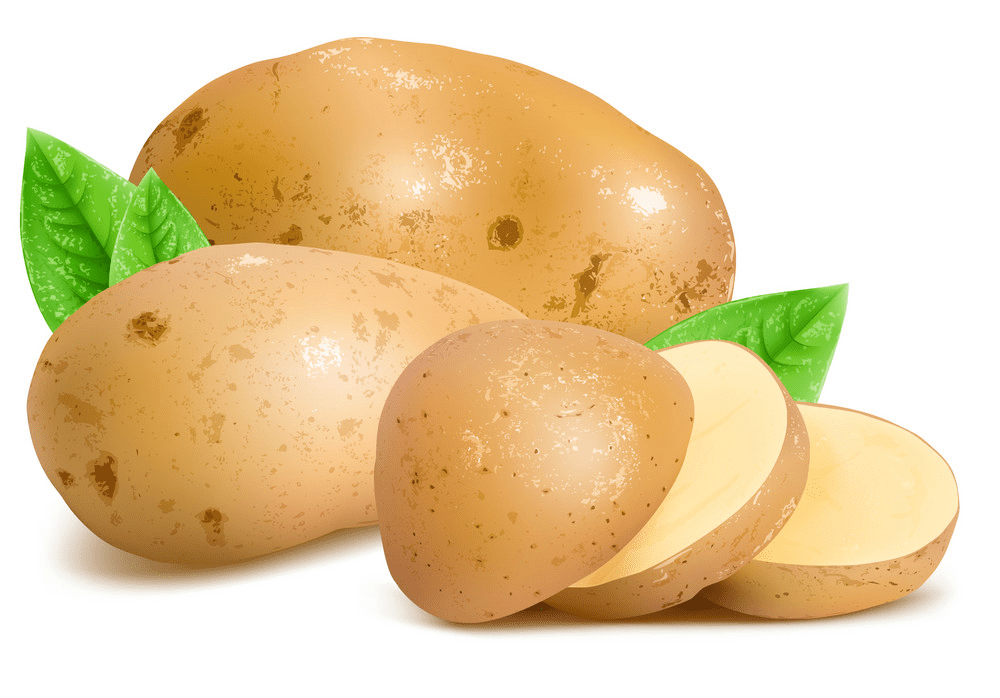 Potatoes clipart image