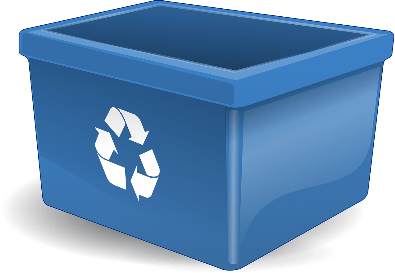 Recycling Box clipart transparent
