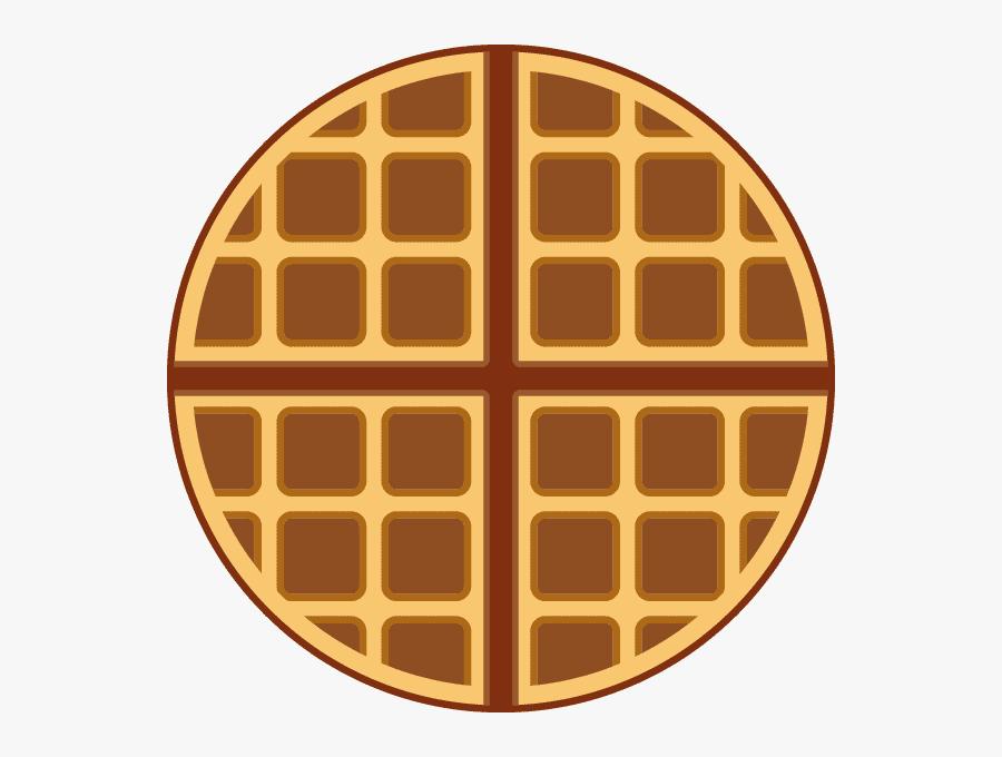 Round Waffle clipart image