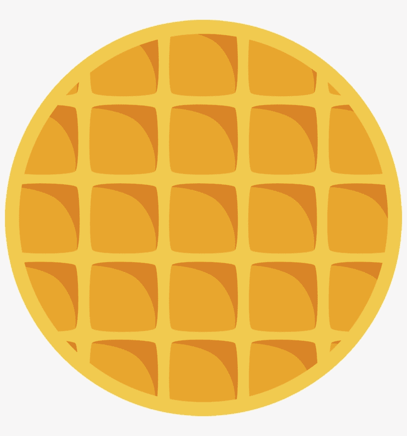 Round Waffle clipart images