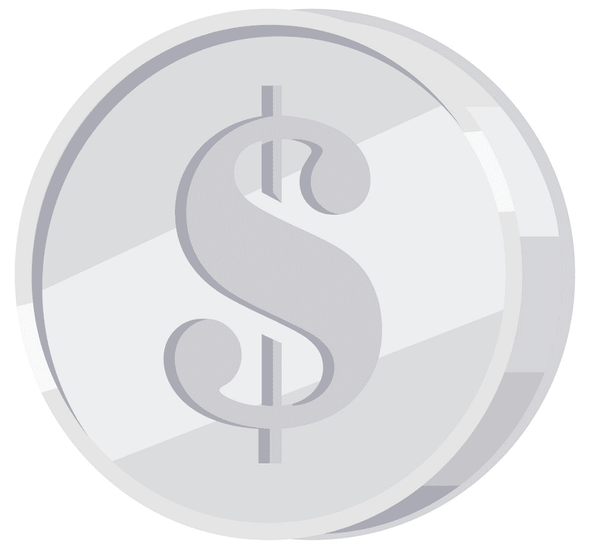 Silver Coin clipart images