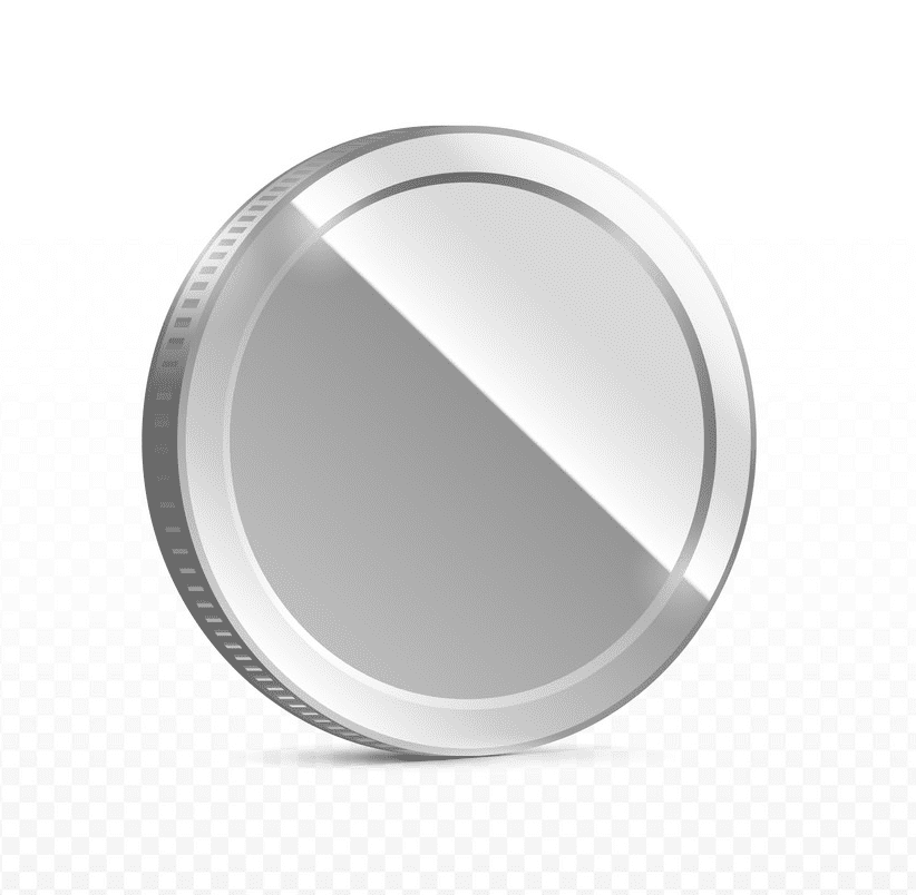 Silver Coin clipart png