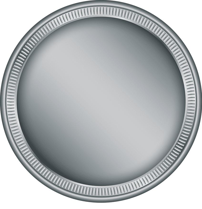 Silver Coin clipart