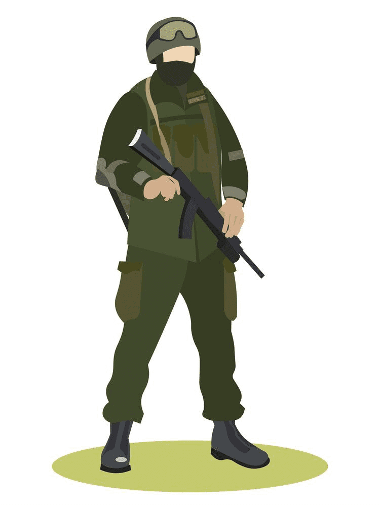 Soldier clipart 1