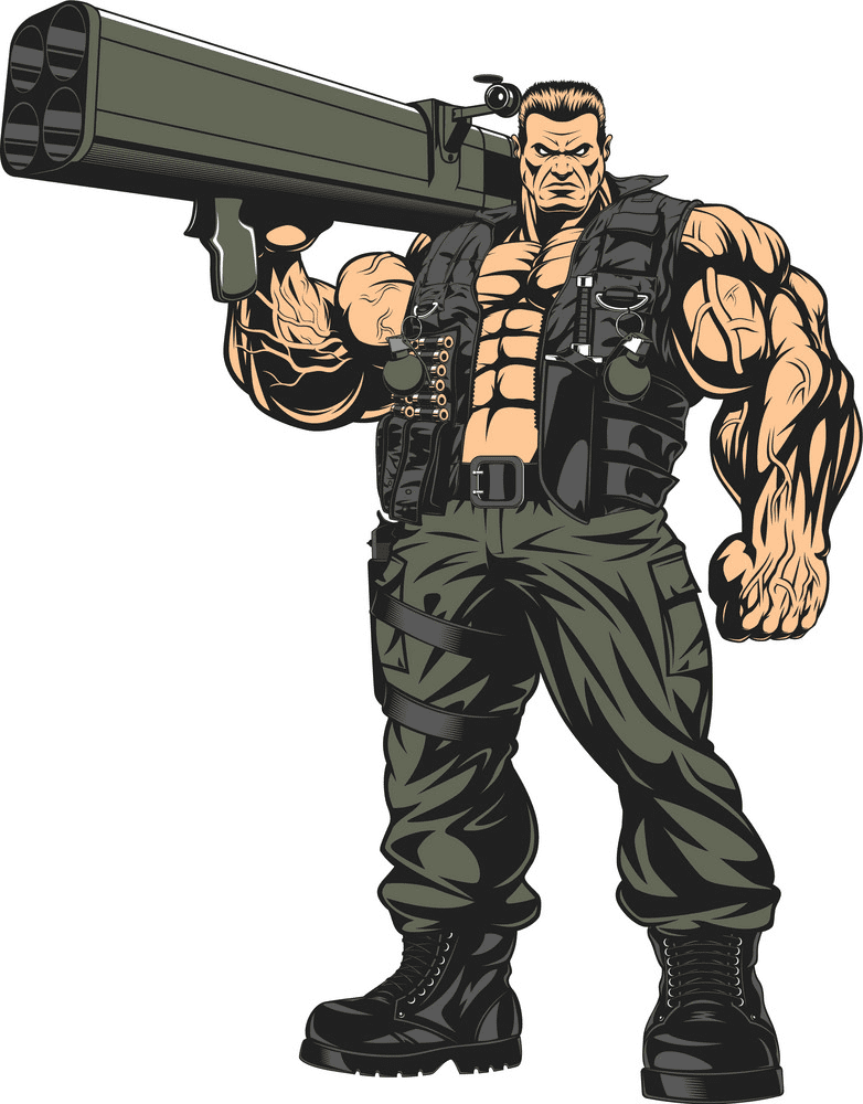 Soldier clipart 10