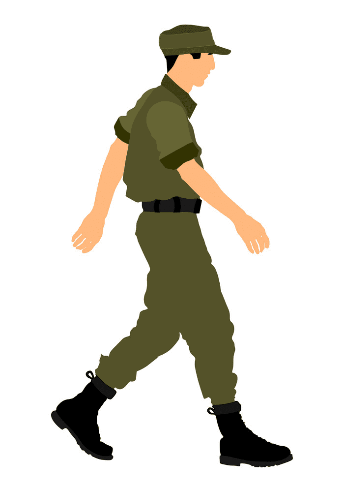 Soldier clipart 2