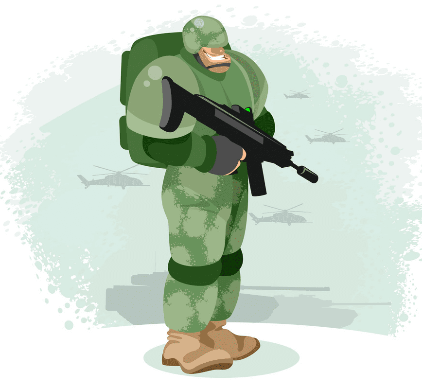 Soldier clipart download
