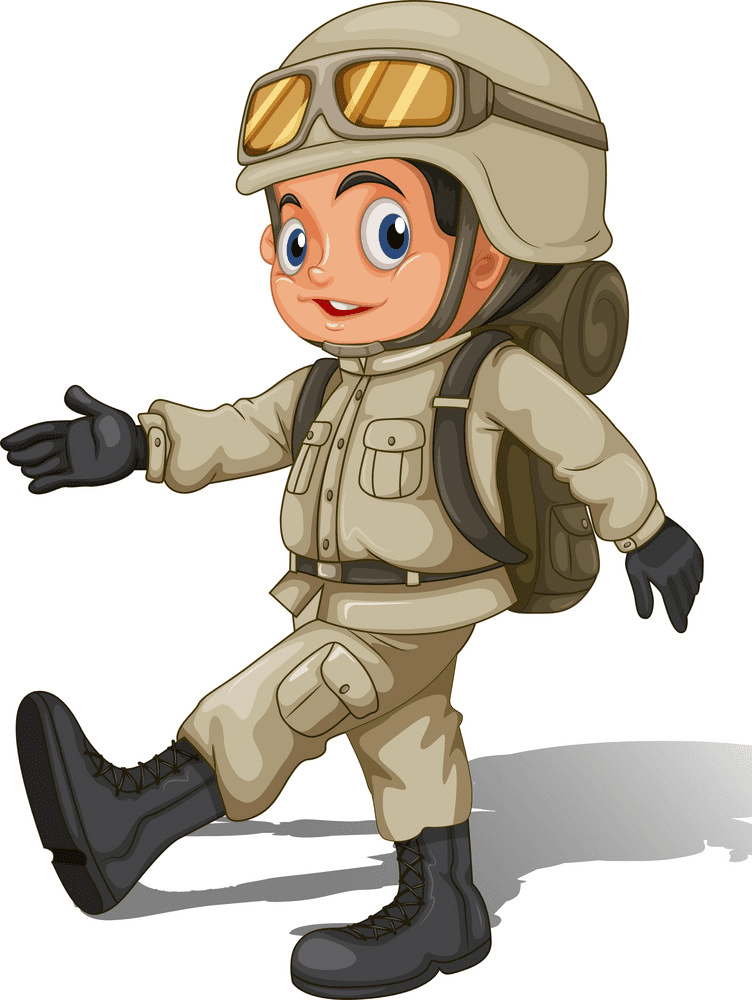 Soldier clipart for kids