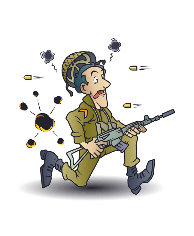 Soldier clipart free 1
