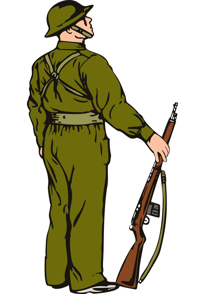 Soldier clipart free download