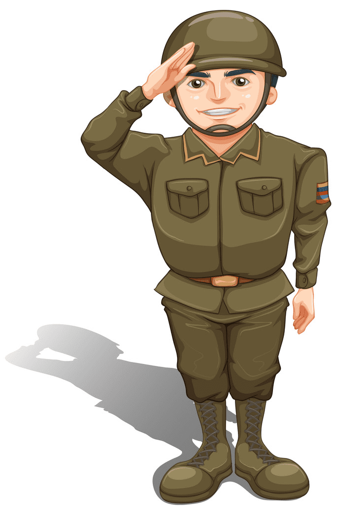 Soldier clipart free for kid