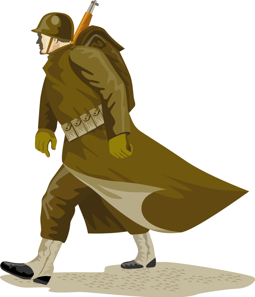 Soldier clipart free for kids