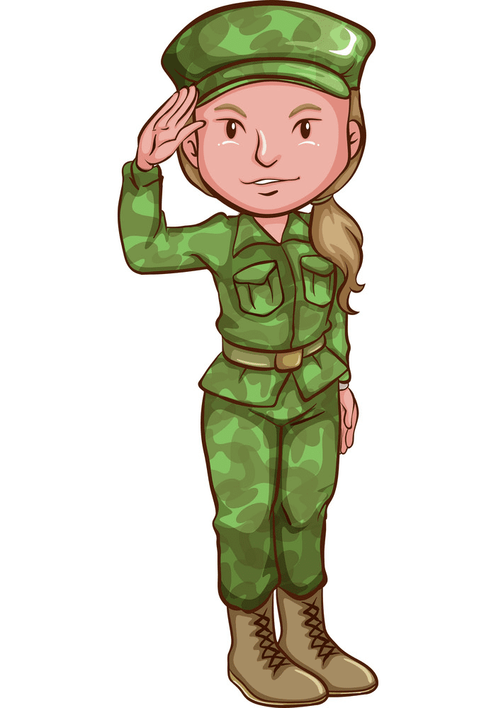 Soldier clipart free image