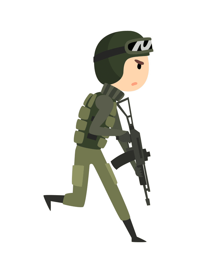 Soldier clipart free images