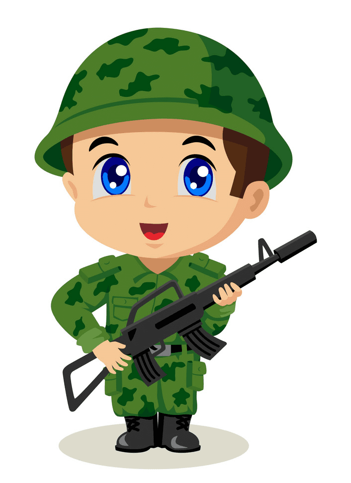 Soldier clipart png download