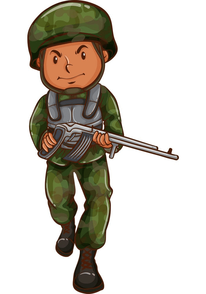 Soldier clipart png for kid
