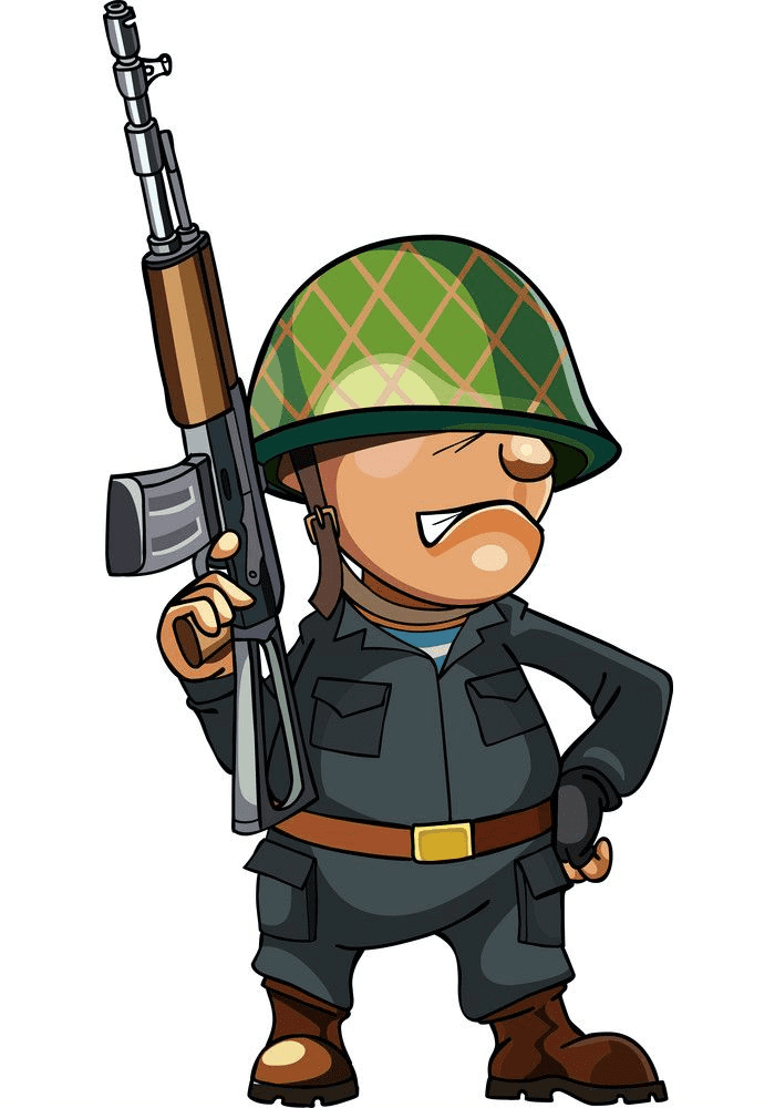 Soldier clipart png for kids