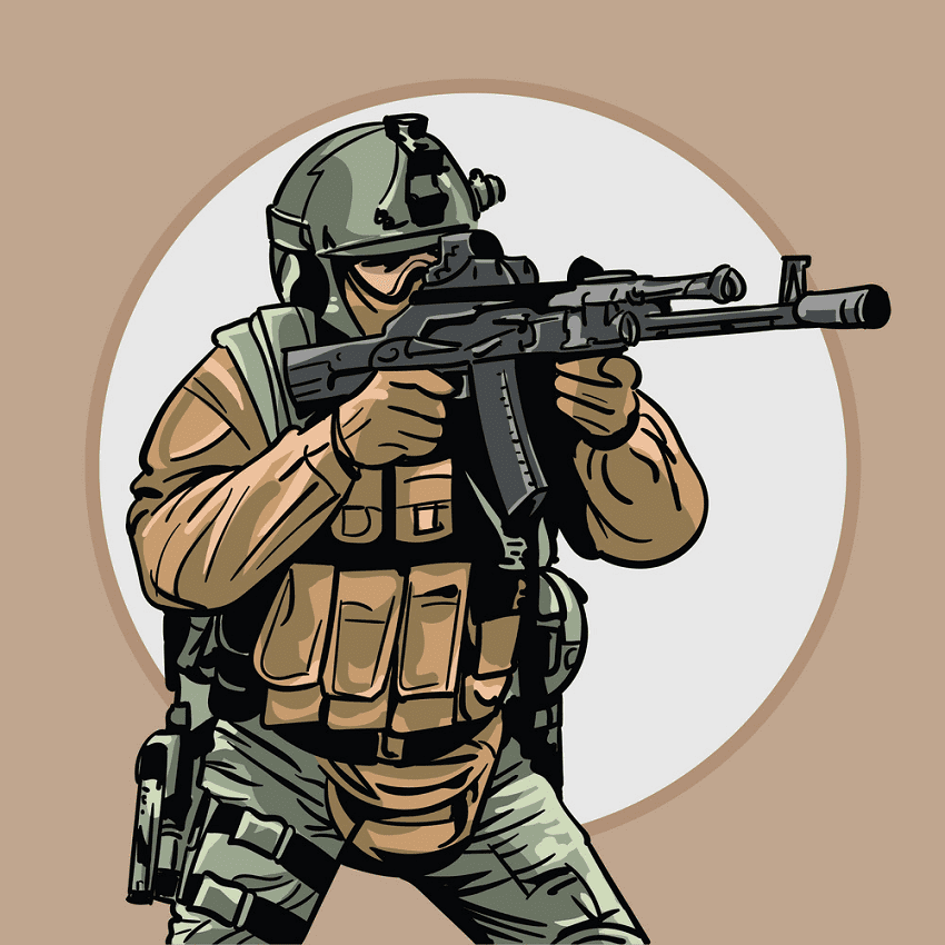 Soldier clipart png picture