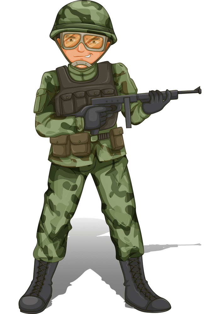 Soldier clipart png