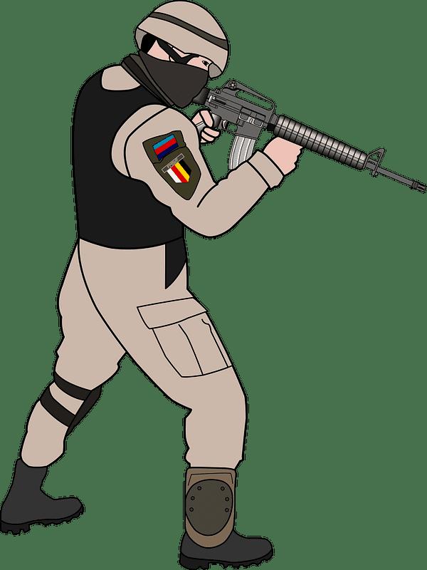Soldier clipart transparent 1
