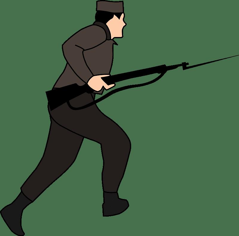 Soldier clipart transparent 10