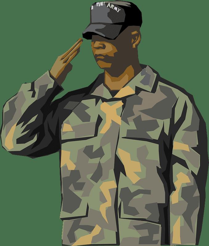 Soldier clipart transparent 13