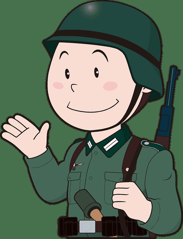Soldier clipart transparent 15