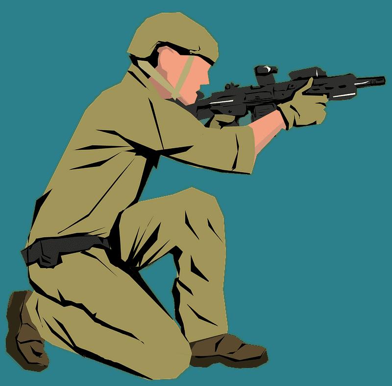 Soldier clipart transparent 2