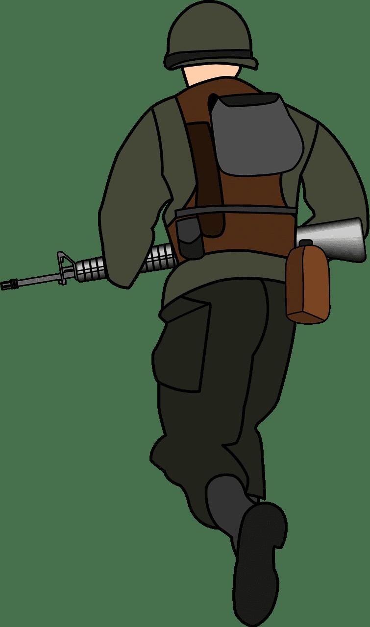 Soldier clipart transparent 4