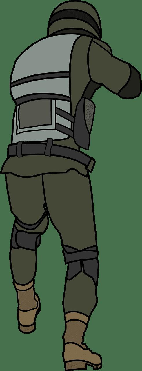 Soldier clipart transparent 5
