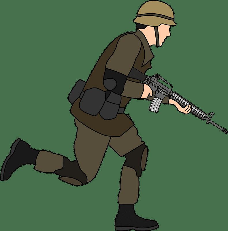 Soldier clipart transparent 6