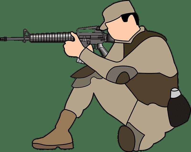 Soldier clipart transparent 7