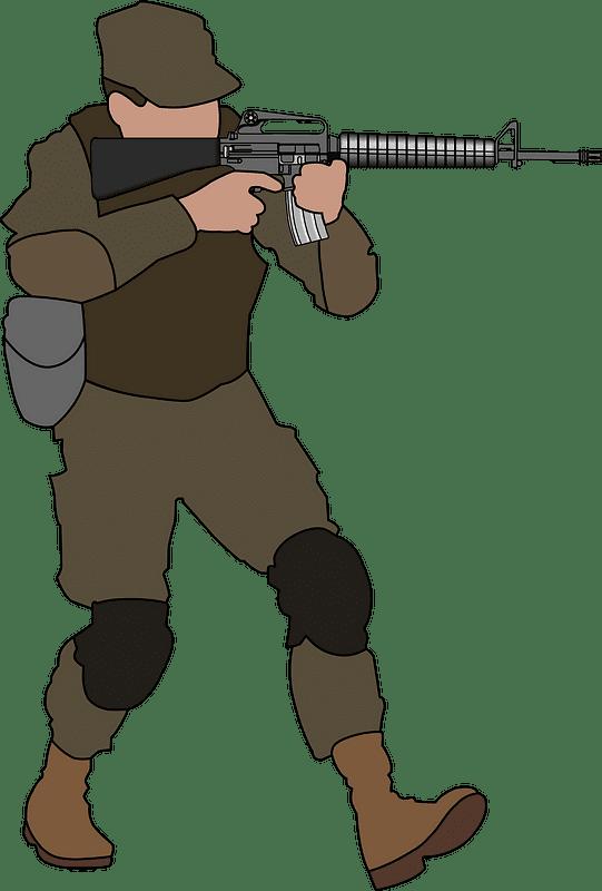 Soldier clipart transparent 8
