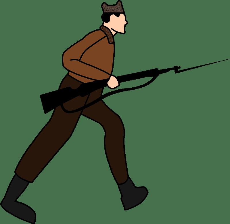 Soldier clipart transparent 9