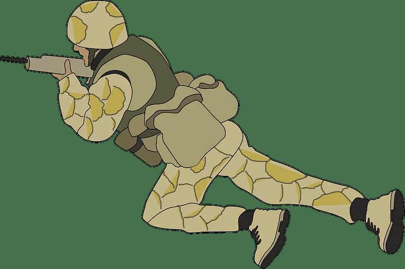 Soldier clipart transparent background 2