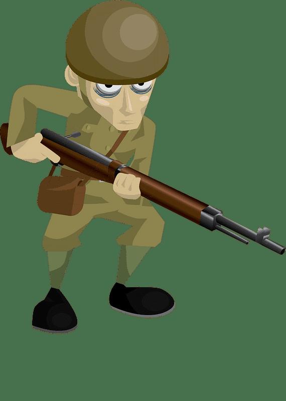 Soldier clipart transparent background 3