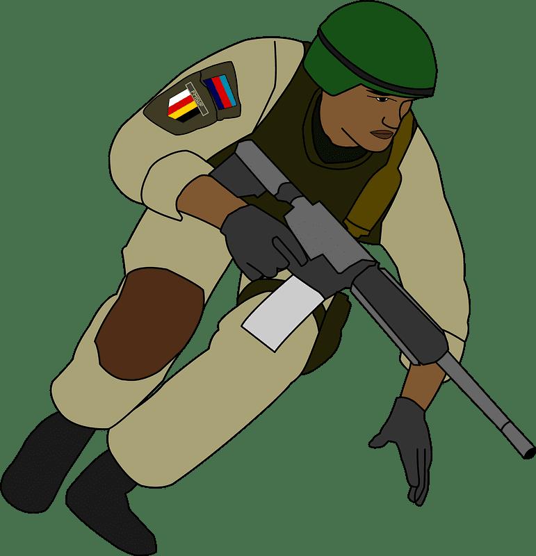 Soldier clipart transparent background 4