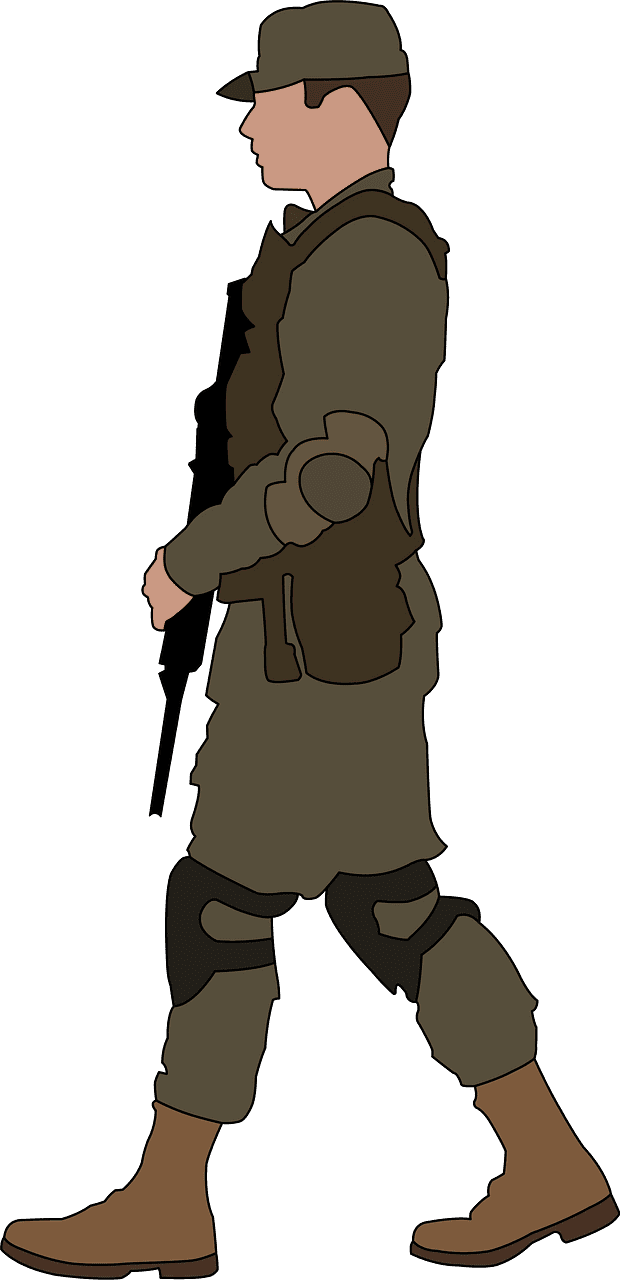 Soldier clipart transparent for kid