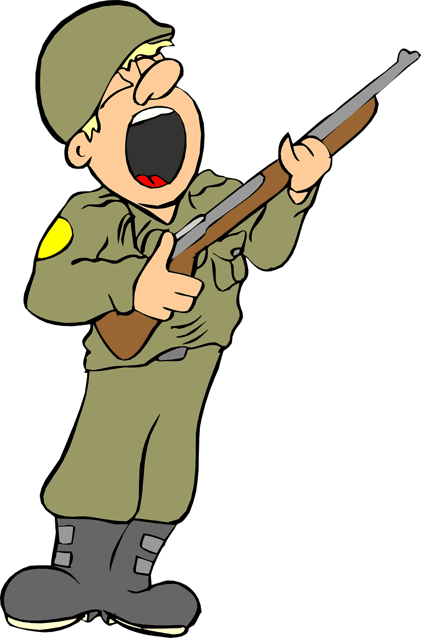 Soldier clipart transparent free