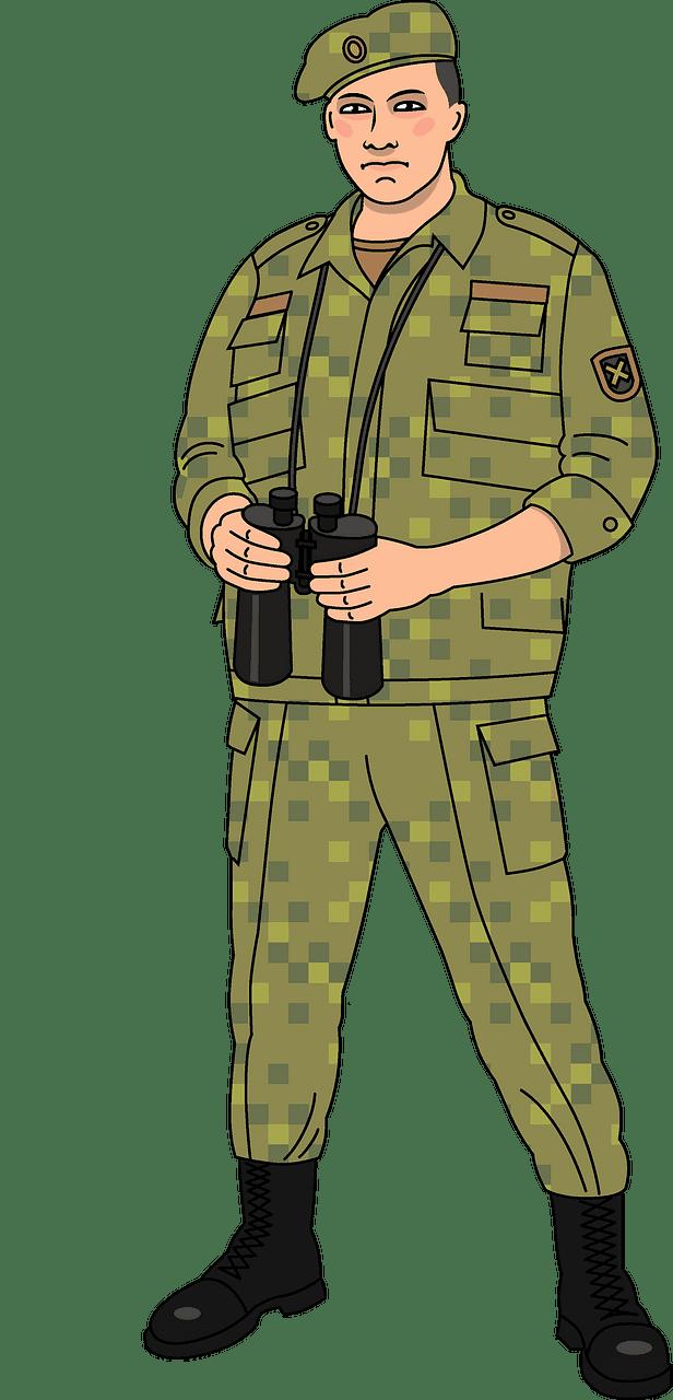 Soldier clipart transparent png
