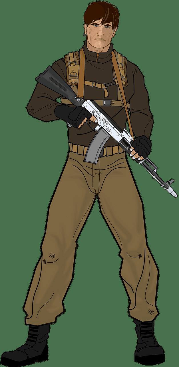 Soldier clipart transparent