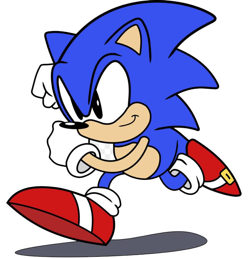 Sonic clipart 1
