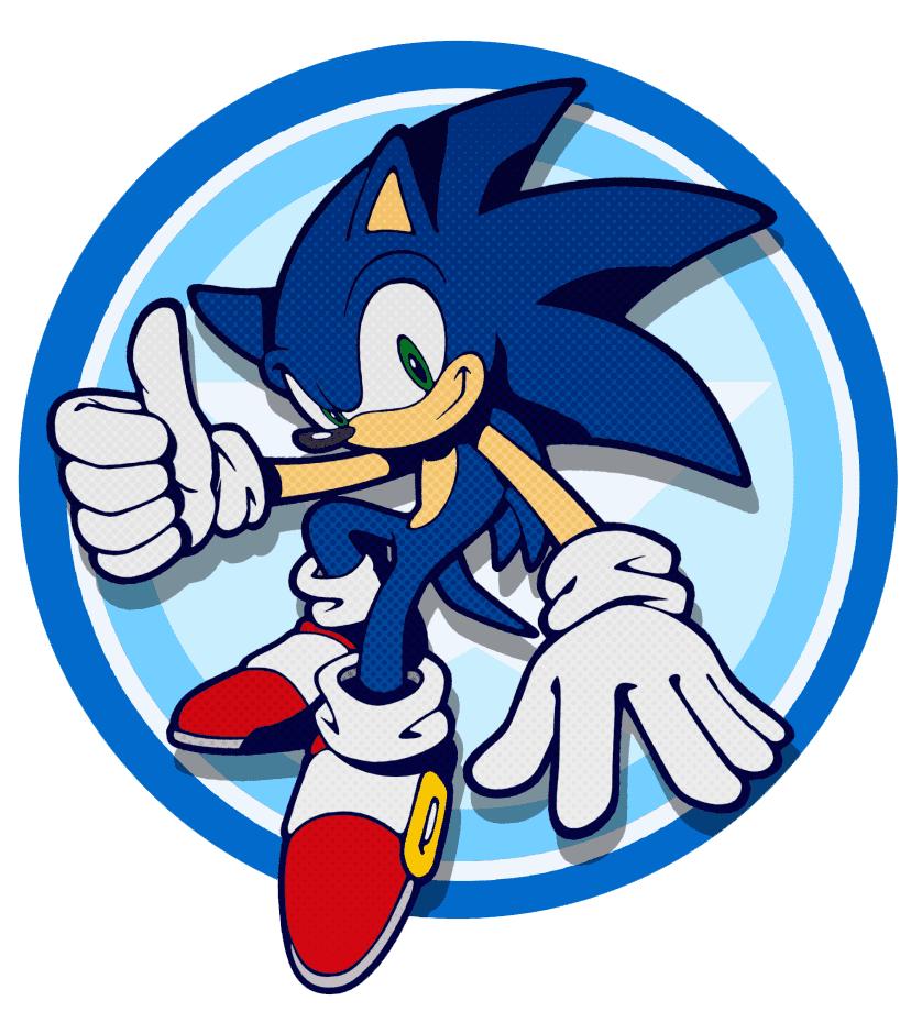 Sonic clipart 6